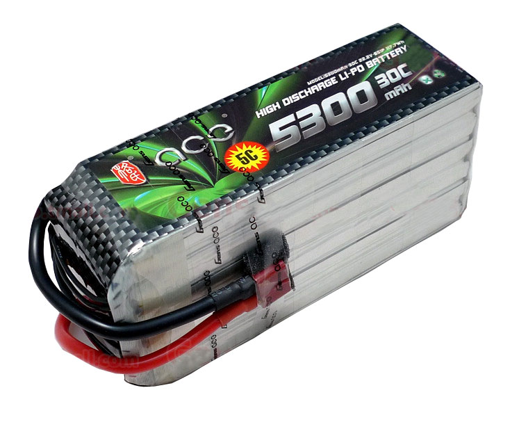 ACE 22.2V 5300mAh 30C LiPo Battery Pack 700 Goblin /Align/ GUAI