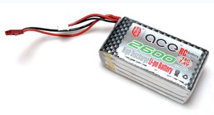 ACE 7.4V 2600mah 15C LiPo Battery Pack