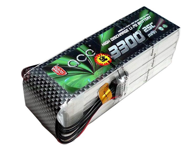 ACE 22.2V 3300mAh 25C LiPo Battery Pack Align 600