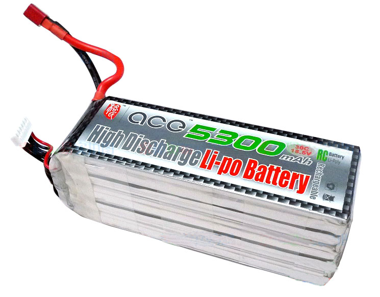 ACE 18.5V 5300mAh 30C LiPo Battery Pack