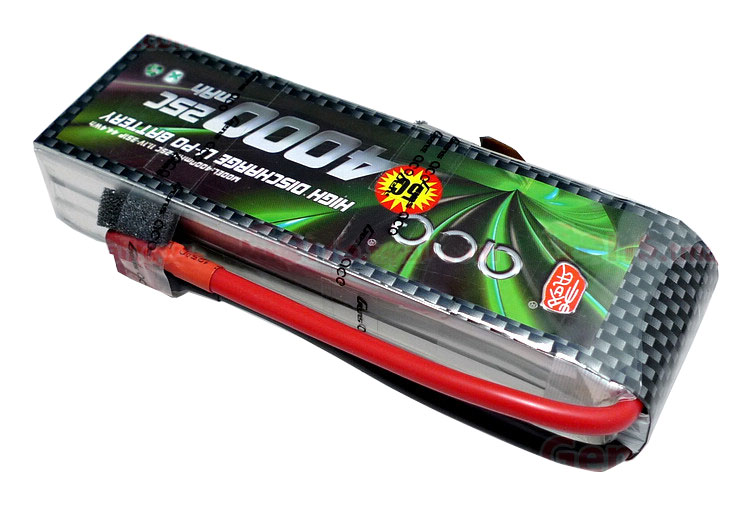 ACE 11.1V 4000mAh 3S 25C LiPo Battery Pack