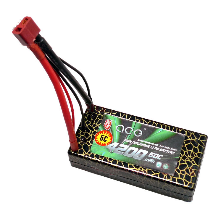 ACE 7.4V 4200mah 2S 60C LiPo Battery Pack