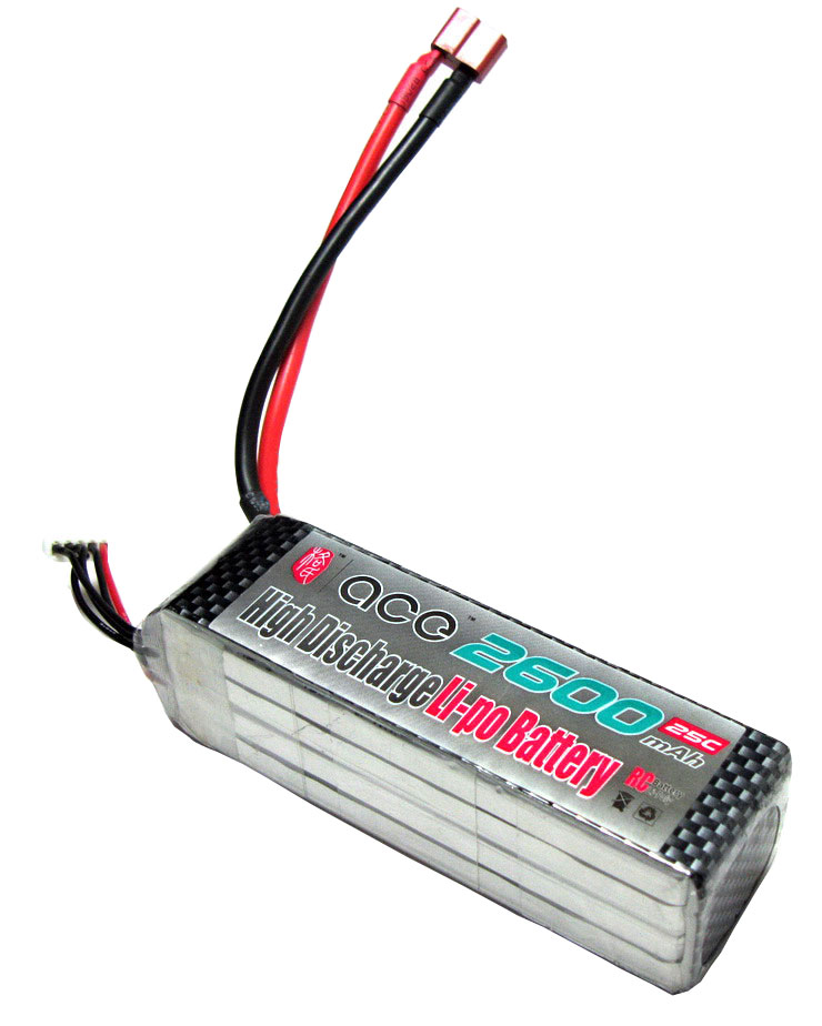 ACE 14.8V 2600mAh 25C LiPo Battery Pack Ducted Machine
