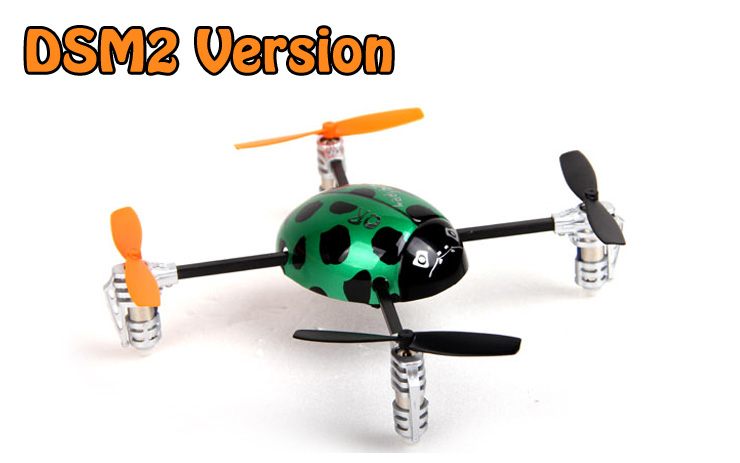 Walkera QR Ladybird DSM2 BNF 4-axis Quadcopter for JR/Spektrum TX