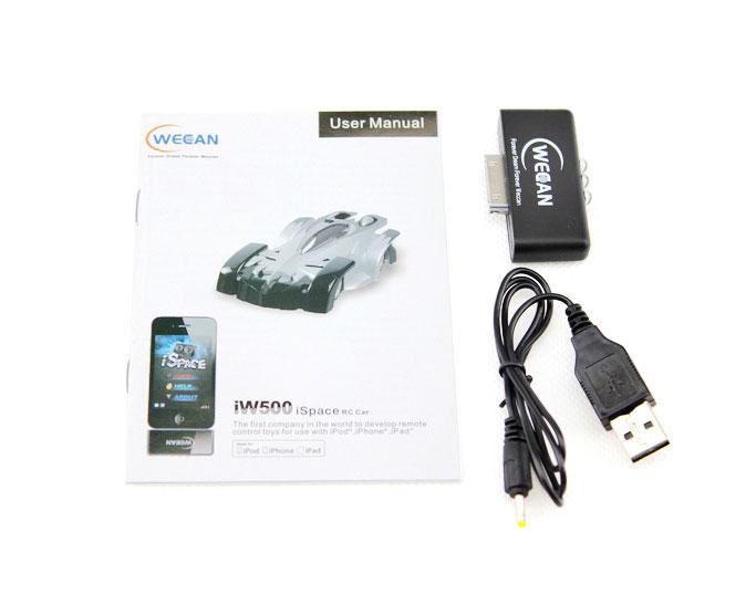 UDI iPhone control iSpace Weccan Mini RC Car IW500