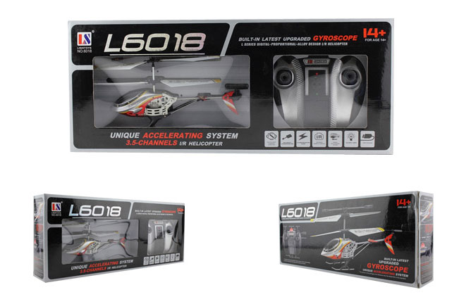 UDI U809A 3.5-Channel iPhone/Android Controlled RC Toy Helicopter with Gyro