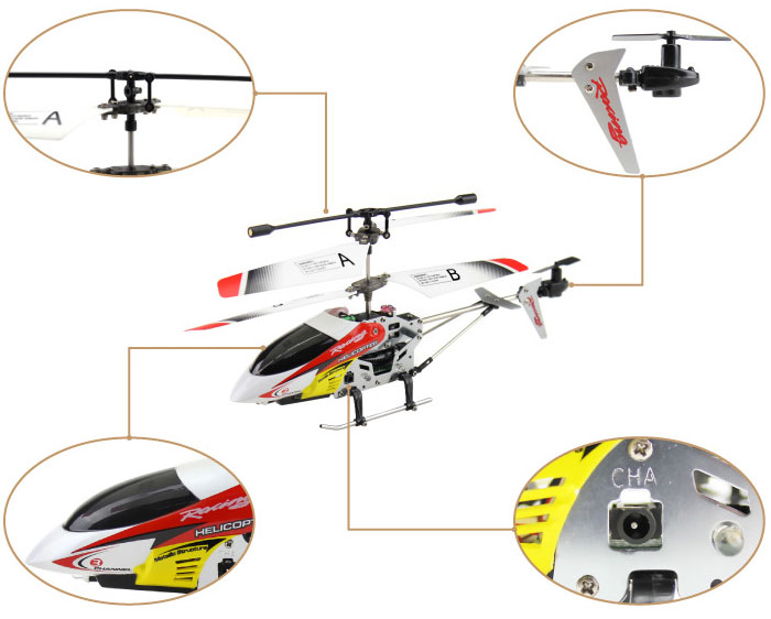 JXD I335 3.5CH iPhone/Android control RC toy helicopter with Gyro