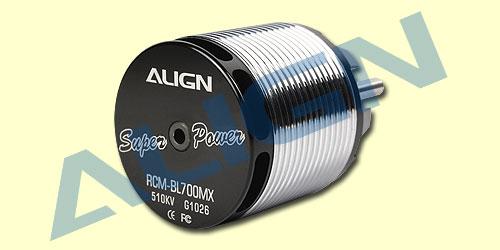 ALIGN 700MX Brushless Motor(510KV) RCM-BL700MX HML70M02