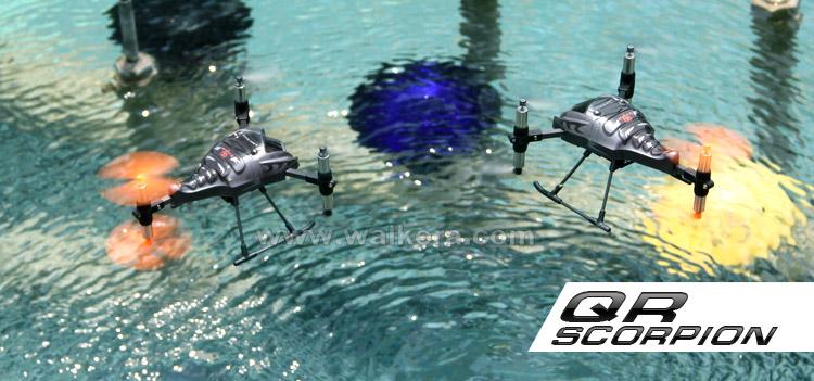 WALKERA QR Scorpion RTF 6 Rotors UFO with 2402D Transmitter 2.4GHz