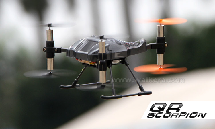 WALKERA QR Scorpion ARF 6 Rotors UFO without Transmitter 2.4GHz