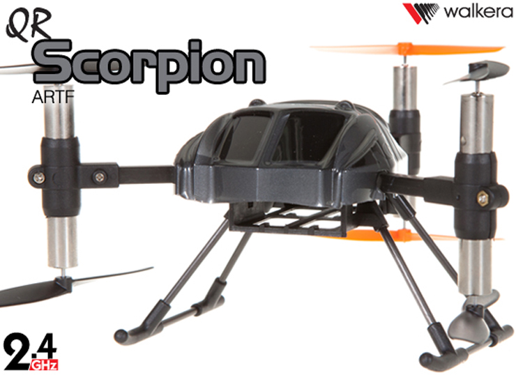 WALKERA QR Scorpion RTF 6 Rotors UFO with DEVO 10 Transmitter 2.4GHz