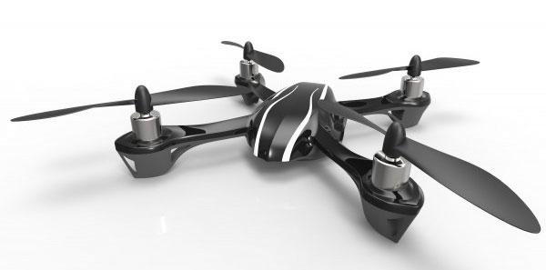 The Hubsan X4 H107 Mini Quadcopter RTF 2.4GHZ