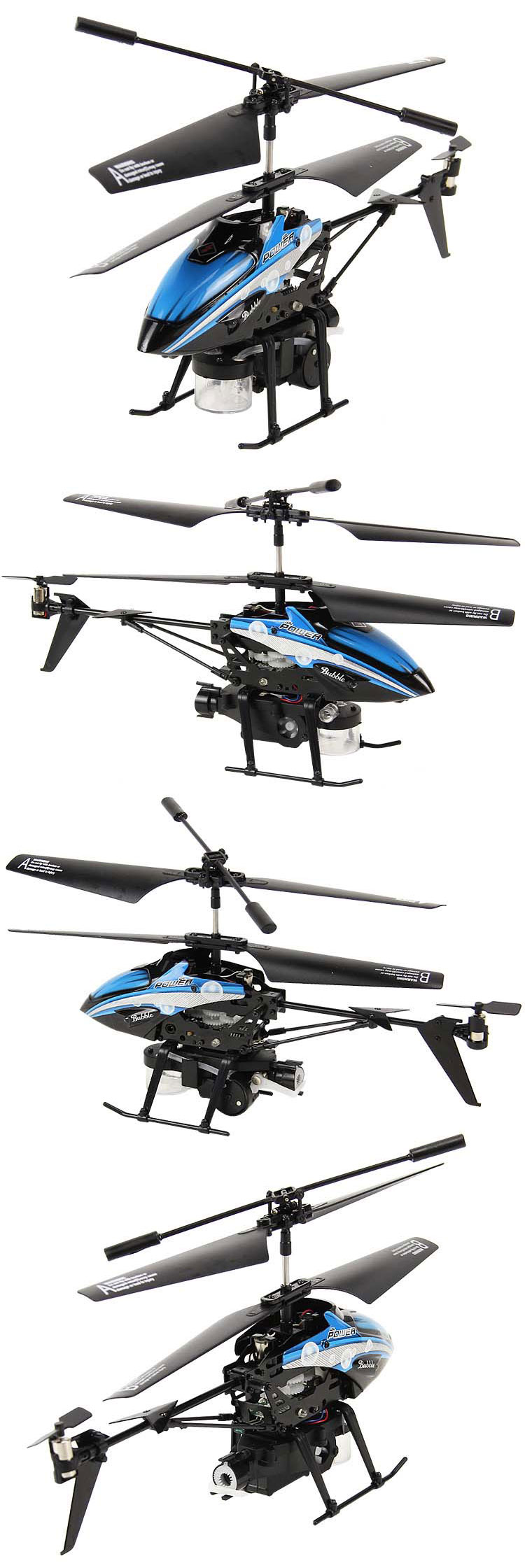 WL V757 Blow Bubbles RC Helicopter