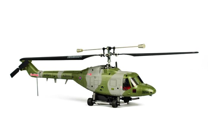Hubsan FPV Westland Lynx Fixed Pitch 4CH helicopter with 2.4Ghz Radio System RTF H101F