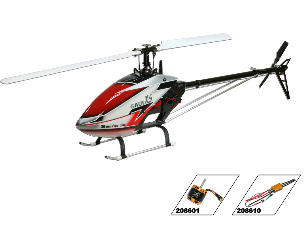 Gaui X5 FES kit RC Helicopter 208010