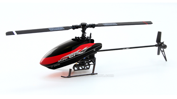 Walkera mini CP  With DEVO 7E Transmitter 6CH 3D 3-axis gyro helicopter RTF 2.4 GHz