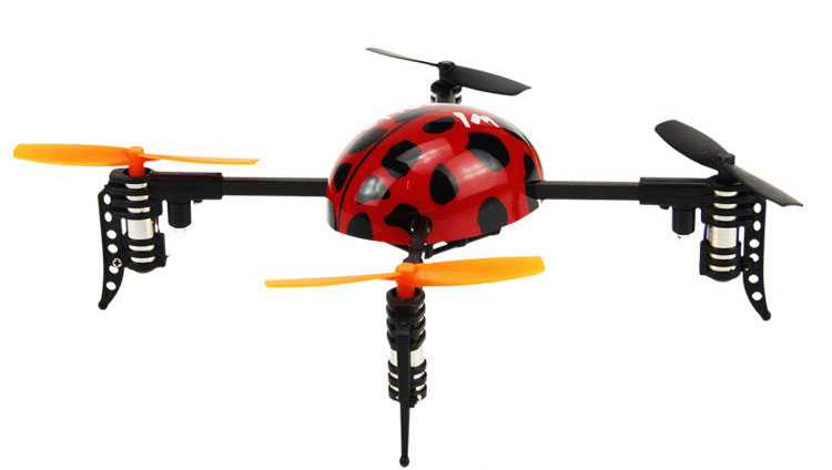 WLtoys V939 Beetle Mini Ladybird 4CH 4-Axis Quadcopter Dexterous RC With Transmitter RTF 2.4G