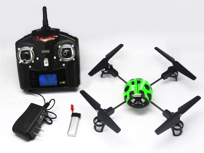 WL V929 Big Ladybird RTF 4-rotor Quadcopter UFO With Transmitter 2.4GHz
