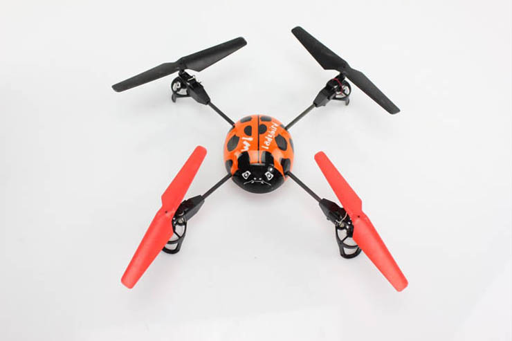 WL V929 Big Ladybird ARF 4-rotor Quadcopter UFO Without Transmitter
