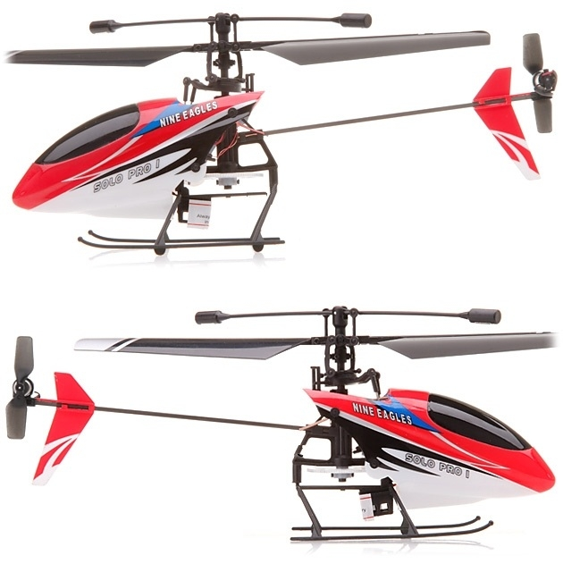 Nine Eagles Solo Pro 260A 4CH Helicopter ARF (Red Body Only)
