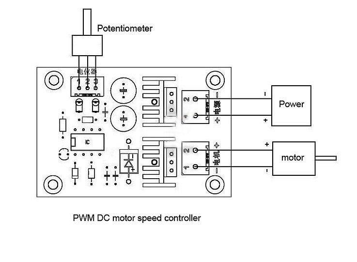 pwm dc converter 12v 36v 10a dc motor speed controller adjuster dc motor driver free shipping. Black Bedroom Furniture Sets. Home Design Ideas