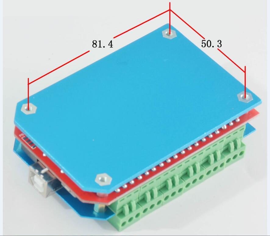 TZT TC50M 50KHz CNC USB MACH3 Motion Control Board 6 Axis Card Controller US