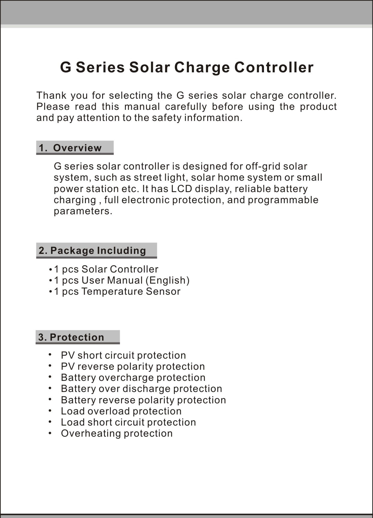 Y Solar 60a Pwm Charge Controller Panel Battery Regulator Reverse Polarity Protection Charger Backlight Lcd 12 V And 24v