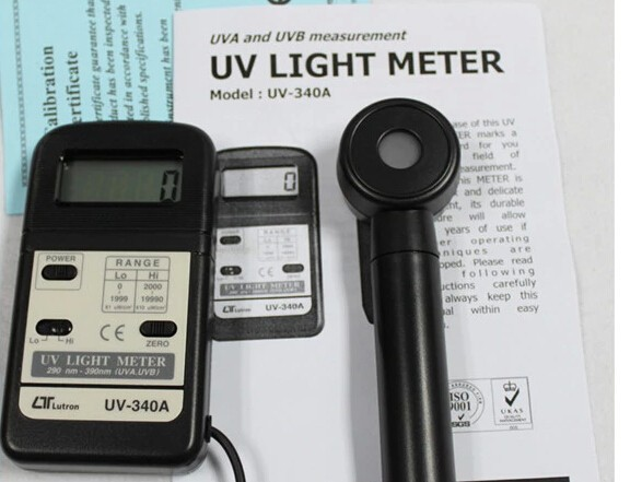 Lutron Uv 340a Digital Pocket Uv Light Meter Tester