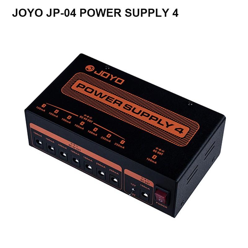 joyo jp 04 guitar effects pedal station power supply independent pedalboard 9v 12v 18v output. Black Bedroom Furniture Sets. Home Design Ideas