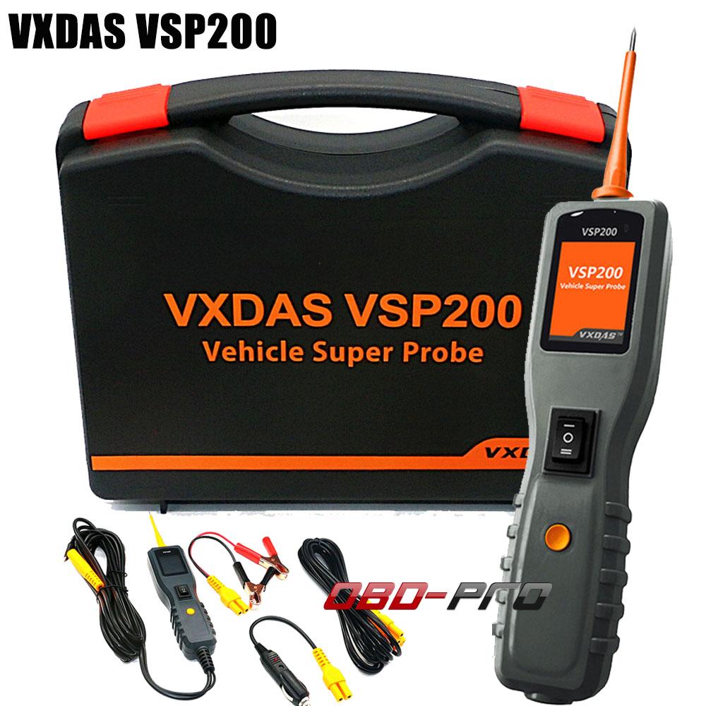 Vxdas Vsp200 Power Scan Vehicle Super Probe Electrical System Relay Circuit Tester