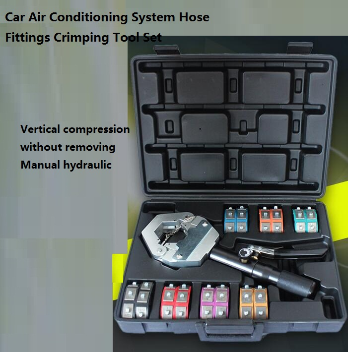 1500 Hydra-Krimp A/C Hose Hydraulic Crimper Kit Air Conditioning