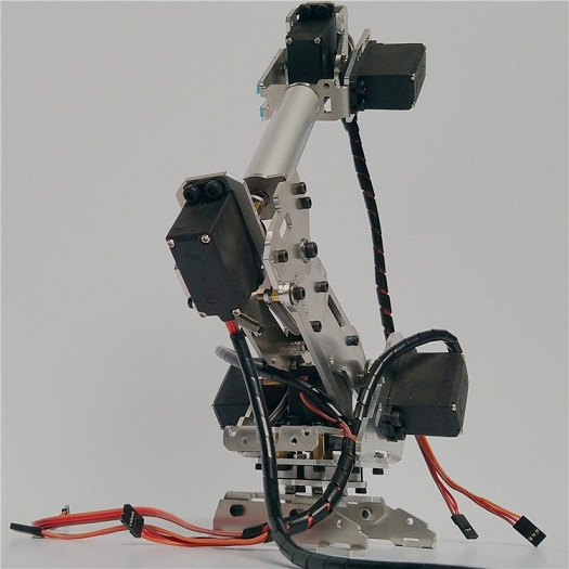 6 DoF Robot Arm ABB Model Manipulator with 6PCS 996R Servo