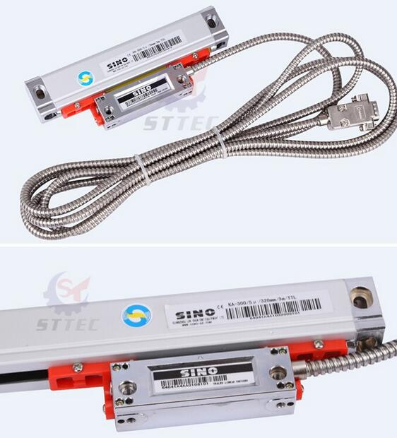 SINO 2 Axis Dro Digital Readout with 2 pcs SDS6-2V Linear