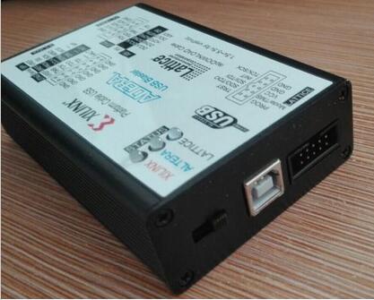 1 5-5 5V USB2 0 XILINX ALTERA LATTICE 3IN1 Download Cable Program