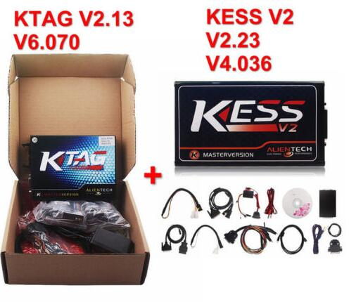 KESS V2 V2 23 + KTAG V2 13 ECU Programmer Chip Tuning Diagnostic