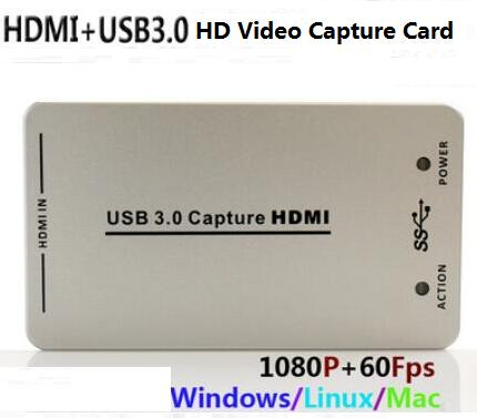 1080P USB3 0 Video Capture Card HDMI PS4 Douyu OBS Mobile
