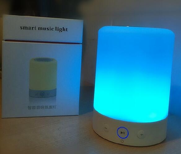 L7 Romantic Lighting Bluetooth Speaker Smart Music Light