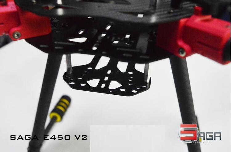 Saga E450v2 Folding Aerial Multi Rotor Fpv Uav X4x8 Aerial