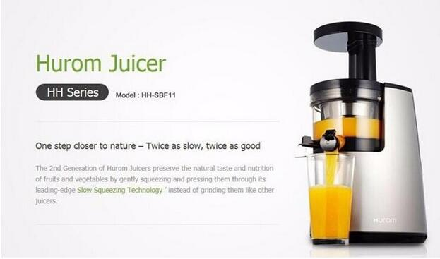 HUROM HH-SBF11 HH Elite Slow Juicer Extractor 2nd Generation Fruit vegetable Citrus - Free ...