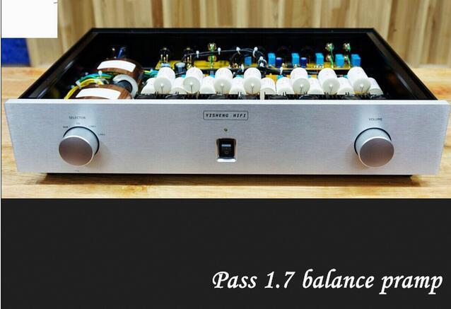 Audio PASS 1 7 Hifi Preamp Full Balance XLR FET Input Output