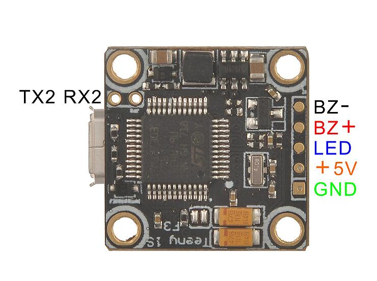 Teeny1s F3 Osd Bec Flight Control Board Betaflight Stm32f3